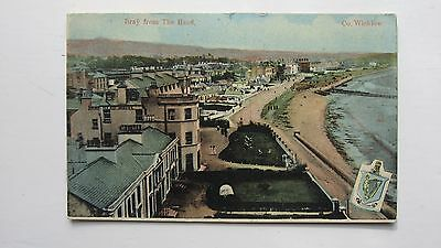 Old postcard Bray from The Head, Co. Wicklow 1915 Milton series