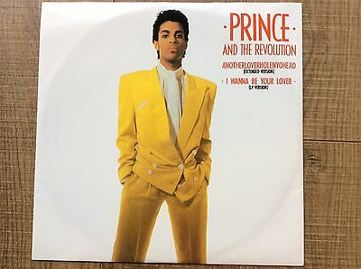"PRINCE-ANOTHERLOVERHOLENYOHEAD/I WANNA BE YOUR LOVER 12"" Vinyl/record"