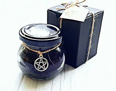 Spell candle Protection ,  witchcraft love spell candle,  pagan intention