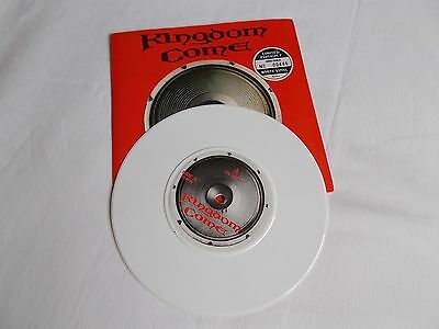"Kingdom Come.  7"" Overated 1989. Ltd Ed.  Uk Kccv 4"