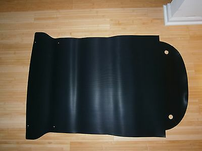 Fiat 850 Spider front rubber trunk mat, new, all model years
