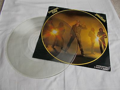 "Judas Priest.uk  Limited Ed. 3 Track 12"" Single. Evening Star. 1979."