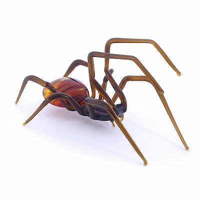 Spider Glass Figurine High-quality Handmade Collectibles Art Russian Federation