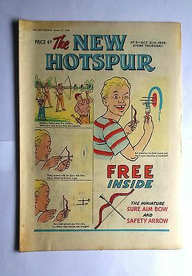 The New Hotspur Comic Number 2 31st October 1959 D C Thomson & Co Ltd Very Good