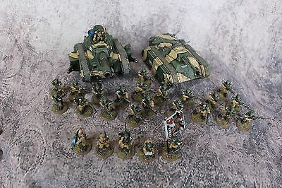 Warhammer 40k Astra Militarum / Cadian defence force / Pro Painted