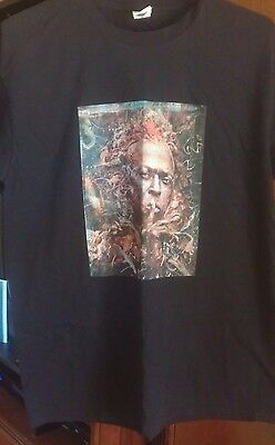 """Miles Davis Awesome """"painting"""" Shirt Size Large New Never Worn Coltrane Monk Rvg"""