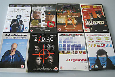 Mixed Lot of DVD's x 8