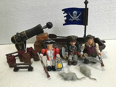 Pirates of the Caribbean mega bloks figures and pieces captain jack sparrow