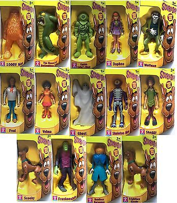 "SCOOBY DOO CHARACTER OPTIONS 5"" ACTION FIGURE - Choice of 14 Figures  New in Box"
