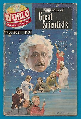 Classics Illustrated Comic   Great Scientists 48 pages  #880