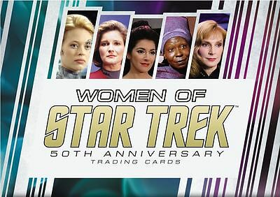 2 x Women of Star Trek 2017 50th Anniversary sealed box - presale