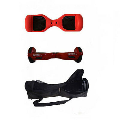 Easy People Red Hoover Skin Silicone Case + Red Hoover board + Bag