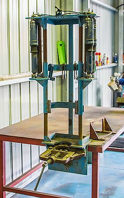 Automotive Air Operated Strut Coil Spring Compressor Bench or Wall Mount