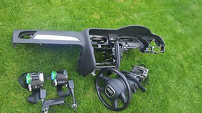 Audi a4 s4 a5 b8  dashboard with complete set 2009-2014