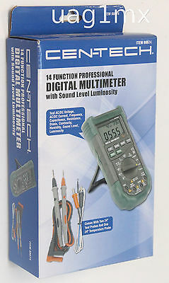 NEW  Cen-Tech 14 Function Digital Multimeter 98674