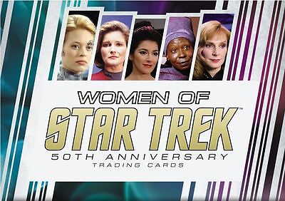 Women of Star Trek 2017 50th Anniversary sealed Box + Promo