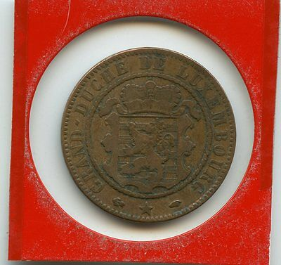 Luxembourg 10 centimes 1860 n°4340