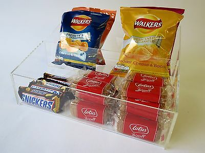 Confectionery 2 step counter display (impulse Buy) choice 2 sizes large or small