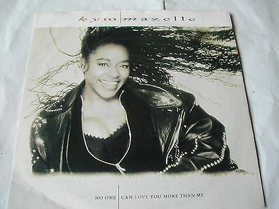 Kym Mazelle - No One Can Love You More Than Me - Parlophone - 7""