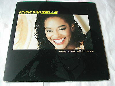 Kym Mazelle - Was That All It Was - Syncopate - 7""