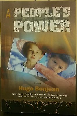 A People's Power Hugo Bonjean Signed 1st Print 2011 Corporate Power OOP Rare!