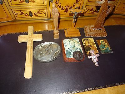 A Collection Of Religious Icons And Other Items - 10 Items