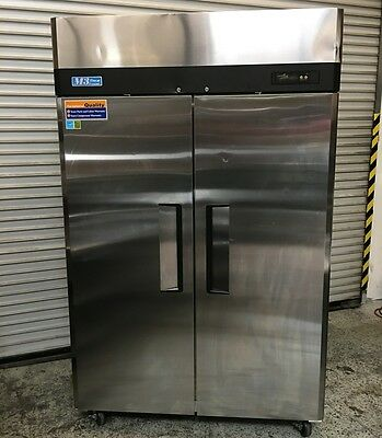 2 Door Reach In Freezer Turbo Air M3F47-2 #6546 Commercial Restaurant NSF