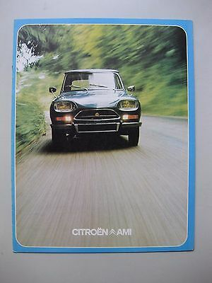 Citroen Ami 8 Super depliant brochure Prospekt Dutch language 1973