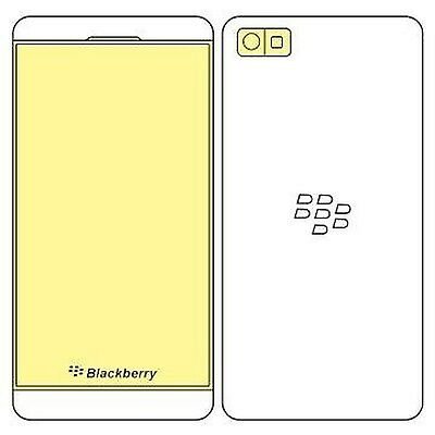 Martin Fields Overlay Plus Screen Protector (Blackberry Z10) - Includes Camer...