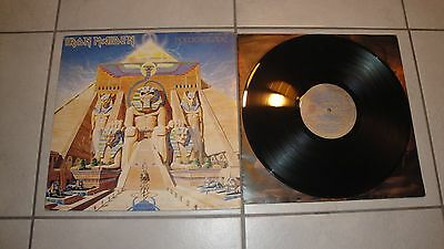 Iron Maiden Lp Powerslave Italy 1984 64 2402001 first press
