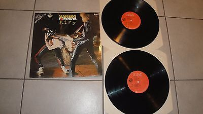 Scorpions Tokyo tapes 2 LP live CY 28331(2) RCA Italy