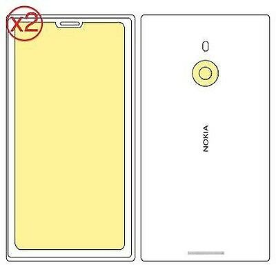 Martin Fields Overlay Plus Screen Protector (Nokia Lumia 1520) Twin Pack - In...