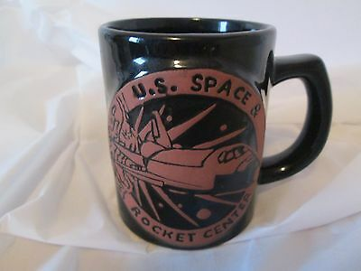 Huntsville Alabama Souvenir US Space Rocket Center Coffee Cup Sculpted 3D Design
