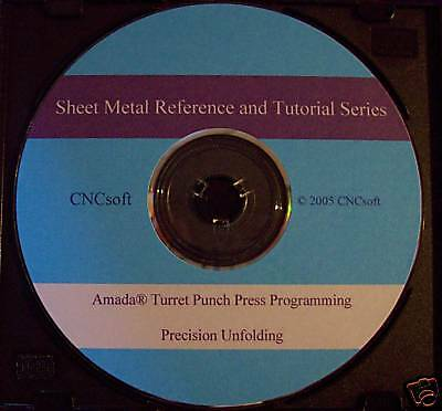 Amada CNC Turret Programming Reference and Tutorial  Series CD G-code Unfolding