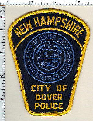 City of Dover Police (New Hampshire)  Shoulder Patch  - new from 1992