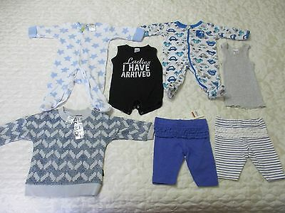 New And As New, 7 Items Girls Boys Size 00, Rompers Pants Jumper See Photos