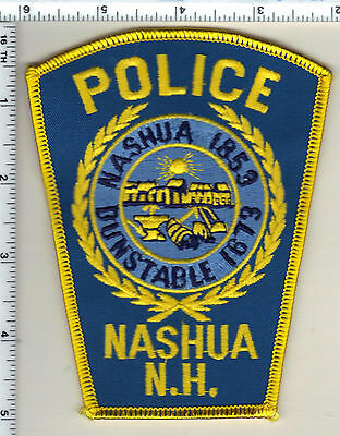 Nashua Police (New Hampshire)  Shoulder Patch  - new from 1990
