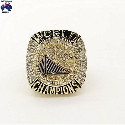 Golden State Warriors 2017 Steph Curry NBA Championship Ring