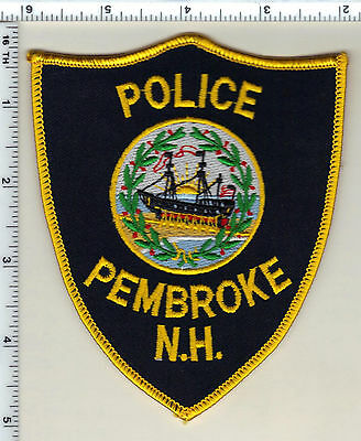Pembroke Police (New Hampshire)  Shoulder Patch  - new from 1992