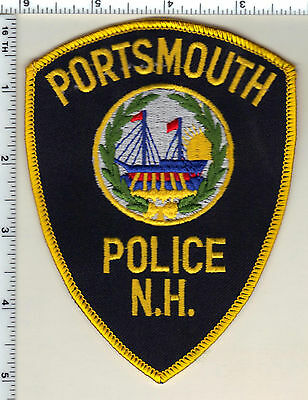 Portsmouth Police (New Hampshire)  Shoulder Patch  - new from 1987