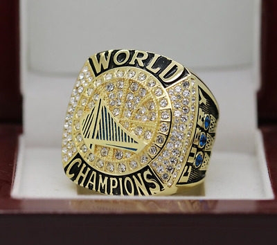 Golden State Warriors 2017 Kevin Durant NBA Championship Ring