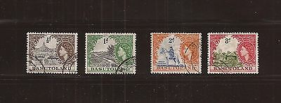 Basutoland used old stamps collection #1