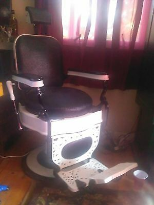 Vintage1930's antique Theo A. Koch barber chair