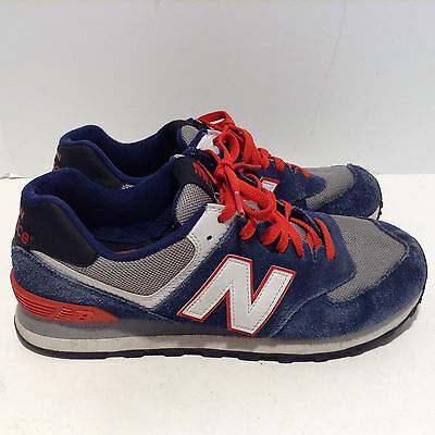 New balance men's Size 9 Blue Red White Athletic Sneakers 574 ML574CPM