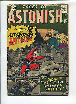 Tales to Astonish  #40  Good  Silver Age Comic  1960's