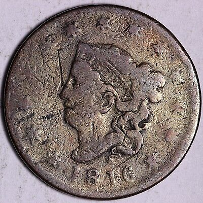 1816 Large Cent R7STF