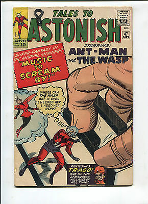 Marvel Tales to Astonish  #47  Very Good/Fine  Silver Age Comic  1960's