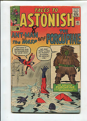 Marvel Tales to Astonish  #48  Very Good  Silver Age Comic  1960's