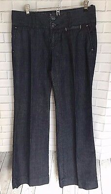 The Lucky Brand Women's Dark Wash Flare Jeans Size: 6, 28