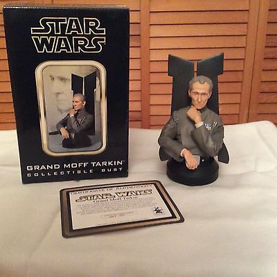 Star Wars Grand Moff Tarkin collectible bust